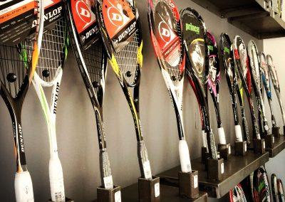 Magasin Raquettes Squash Tennis et Padel à Perpignan