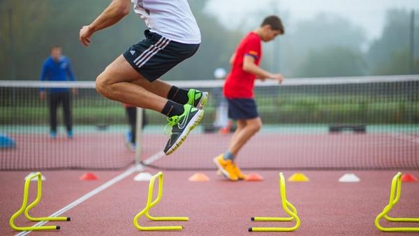 Compétition Tennis Perpignan Physique