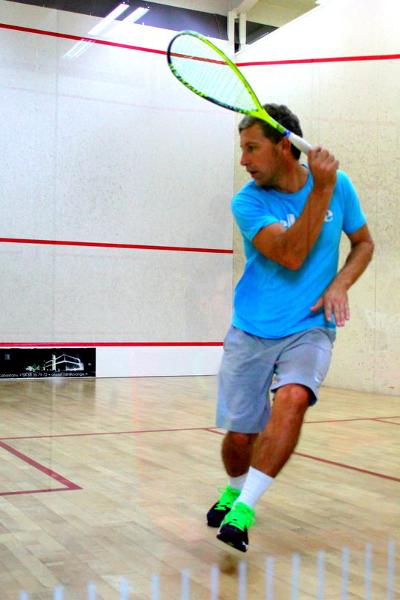 Laurent Combaluzier Coach de Squash à Perpignan