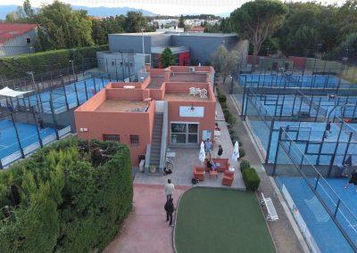 Tennis Squash Padel Club du Mas à Perpignan
