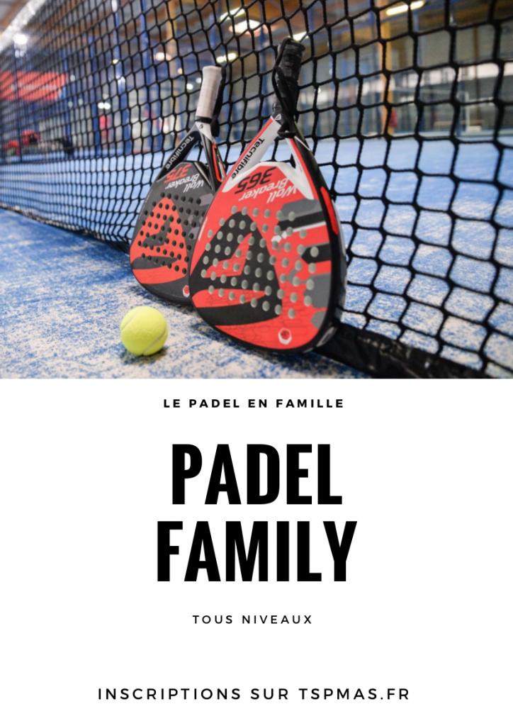 Animation Padel Family à Perpignan ETE 2017