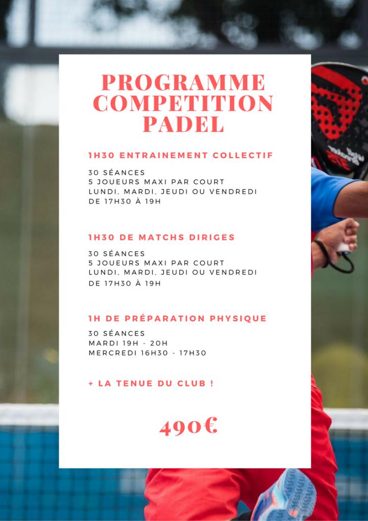 Centre de compétition Padel Perpignan 2017